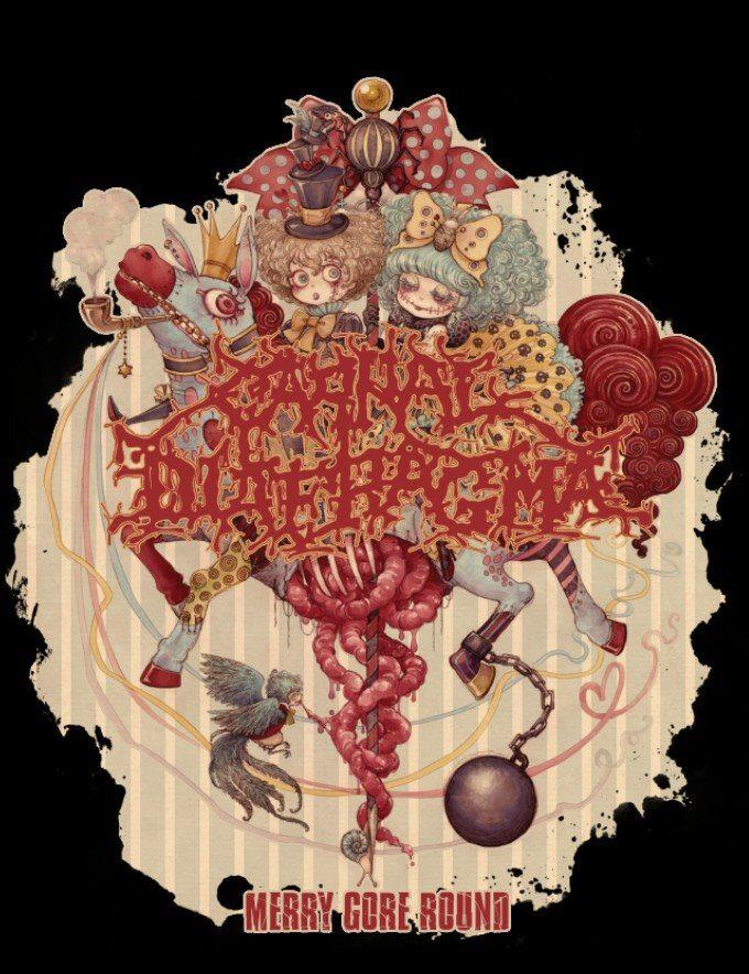 PRE-ORDER! Carnal Diafragma - Merry Gore Round / Girls Tank T