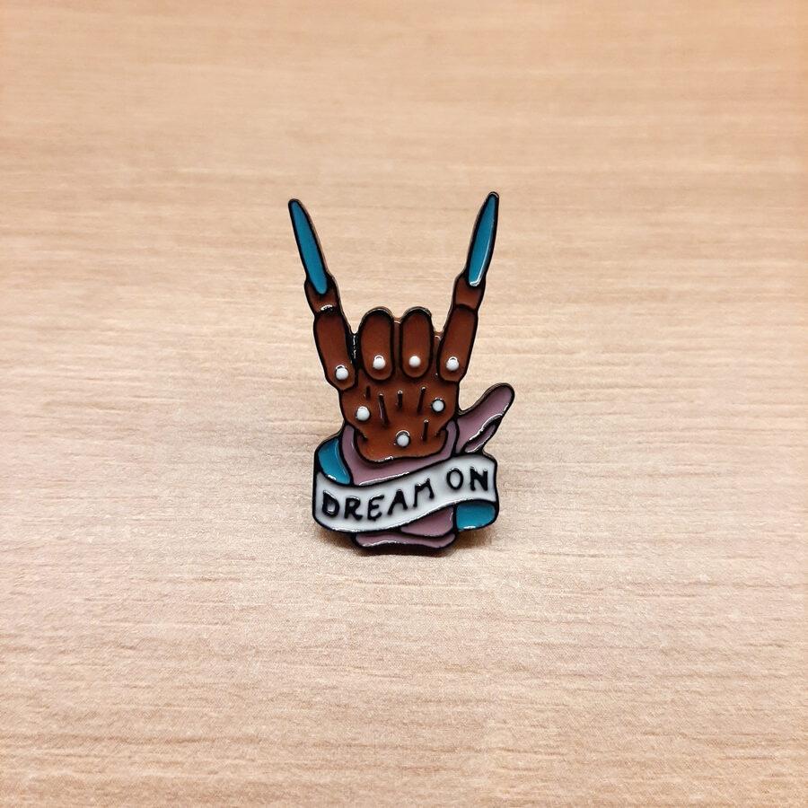 Pin Freddyho Rukavice / Noční Můra v Elm Street