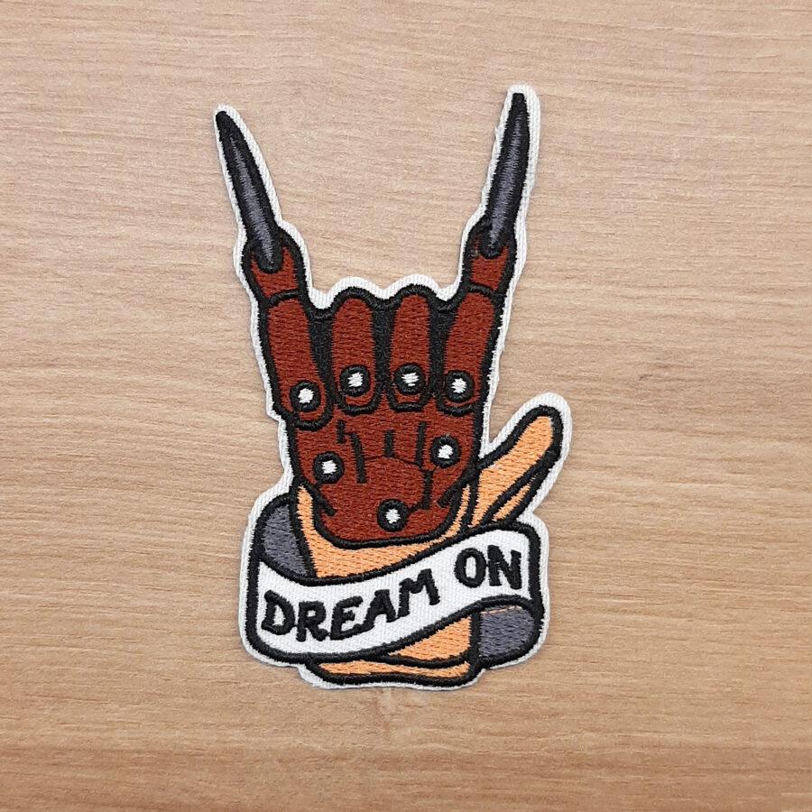Nášivka Freddyho Rukavice / Noční Můra V Elm Street