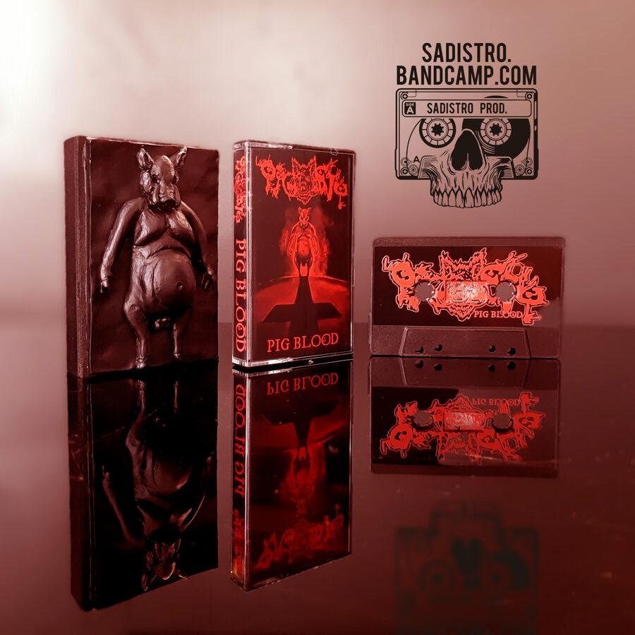 Pigsty - Pig Blood / Limit v limitu / Kazeta v ručně dělaném boxu + Limitované Triko