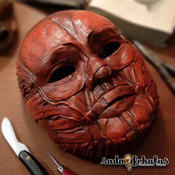 Děsivá Hororová Maska / Bezkožák