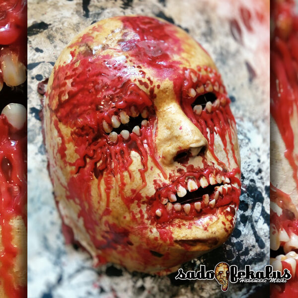 Děsivá Hororová Maska / Zubožák