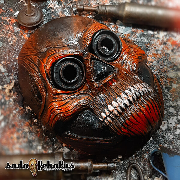 Děsivá Hororová Maska / Odúmrť