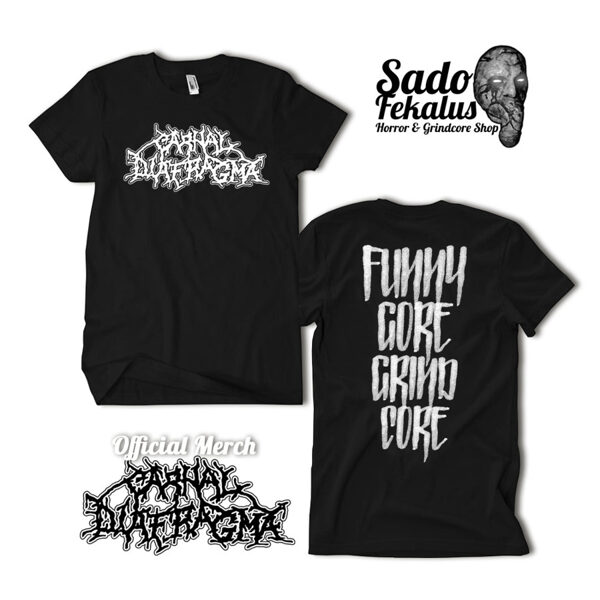 Carnal Diafragma - Normal T-shirts for normal lunatics